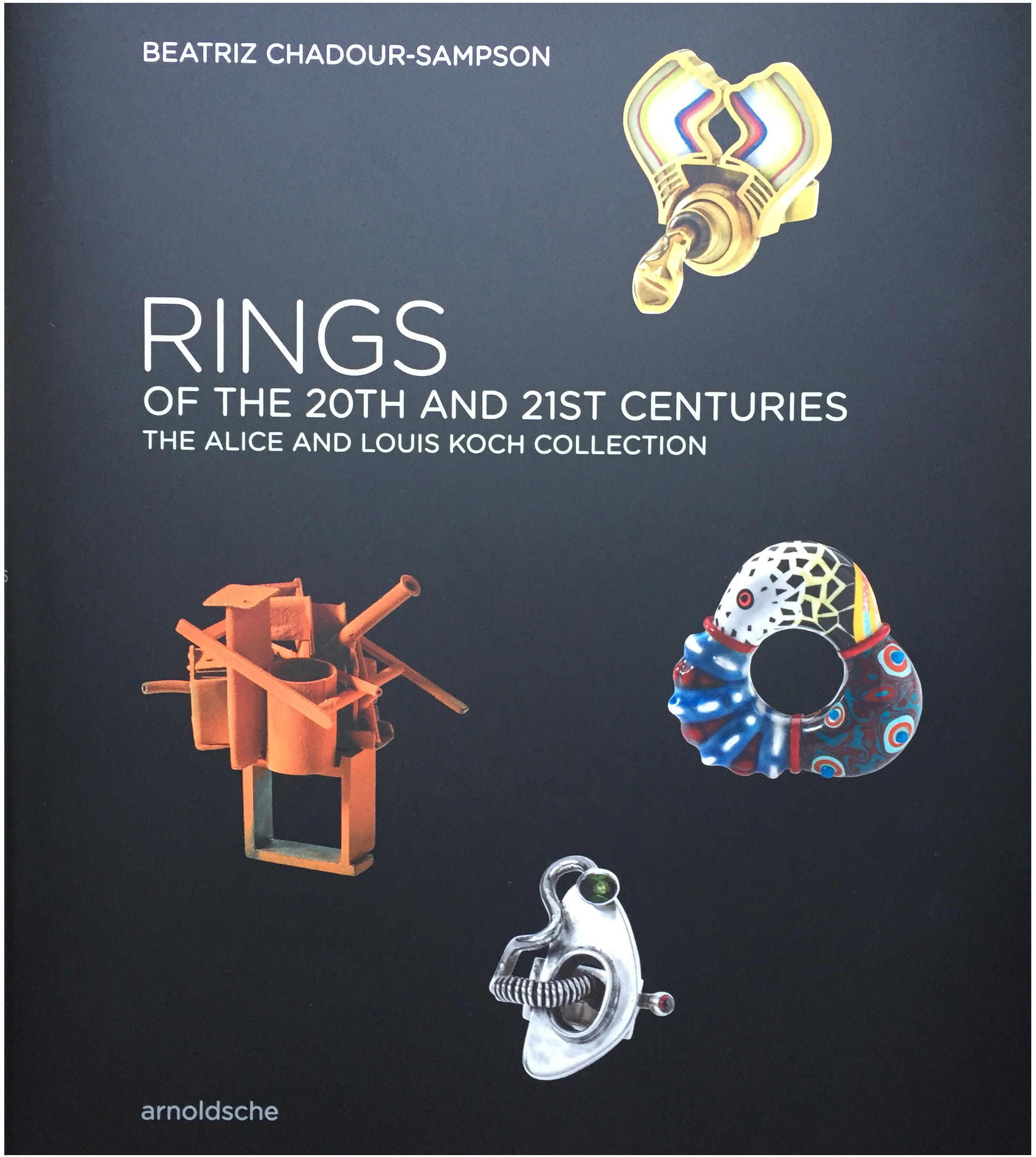 Donna Brennan's Ring is profiled in Beatriz Chadour Sampson's new book, Rings of the 20th and 21st Centuries: The Alice and Louis Koch Collection, published by Arnoldsche 2019